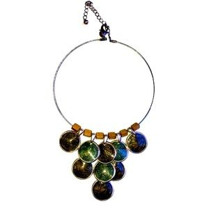 Chico's choker crystal necklace.One size fits all